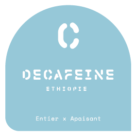 Décaféiné Ethiopie - Le Café Alain Ducasse