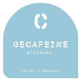 Decaffeinated Ethiopie - Le Café Alain Ducasse