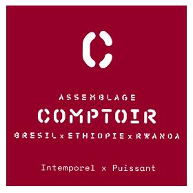 Assemblage Comptoir Espresso - Le Café Alain Ducasse