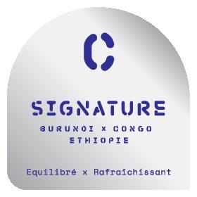 Assemblage Signature Filtre - Le Café Alain Ducasse