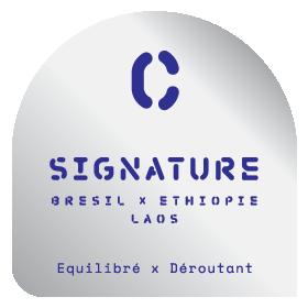 Assemblage Signature Espresso - Le Café Alain Ducasse