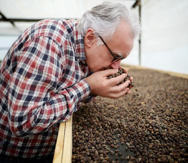 Alain Ducasse et le café